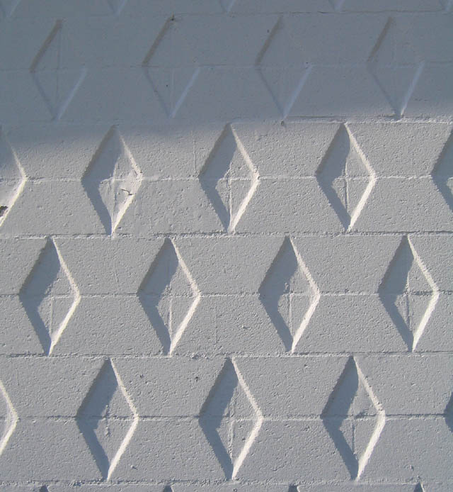 White Diamonds in Brick