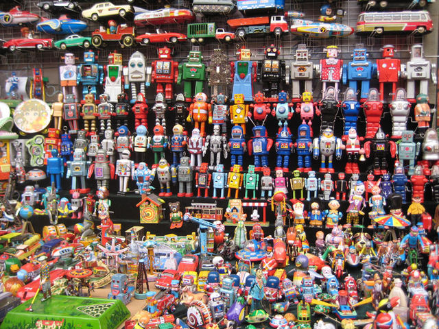 more robot toys beijing china january 17 2009 more of the robot toys ...